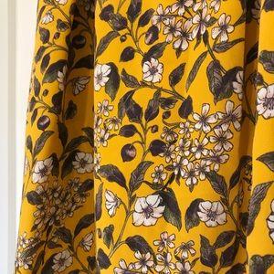 ASOS Skirts - ASOS Floral Print Midi Skirt